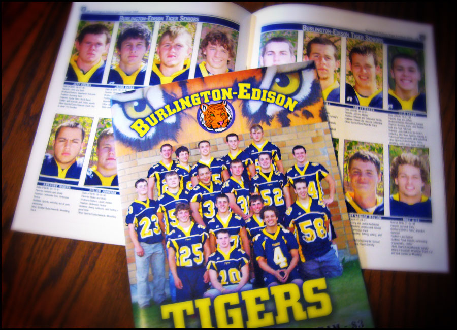 Burlington Edison Football Booklet