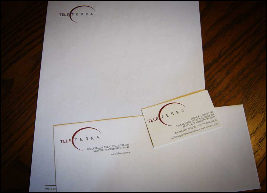 Tele Terra Stationery